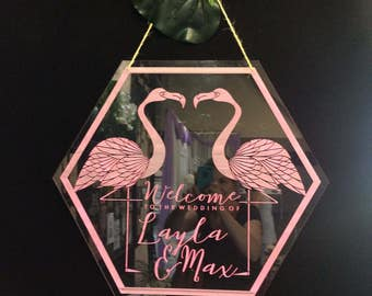 Wedding Welcome Sign. Large Wedding Signs. Acrylic wedding signs.
