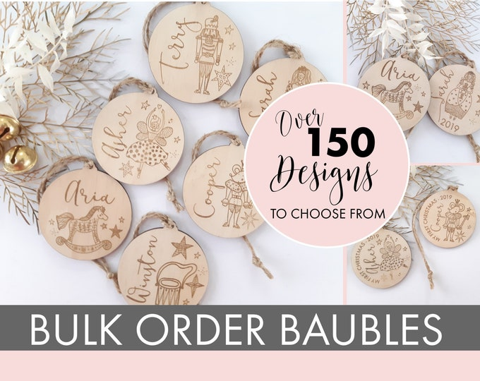 Christmas ornaments - BULK PURCHASE - 15+