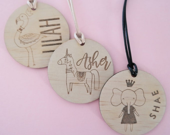 Bag Tags. Luggage Tags Girls. LITTLE PRINCESS