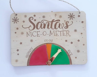 Santa Naughty or Nice Meter - Nice-o-meter - Christmas traditions