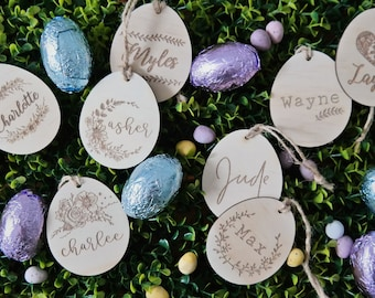Personalised Easter Egg. Customised Easter decoration