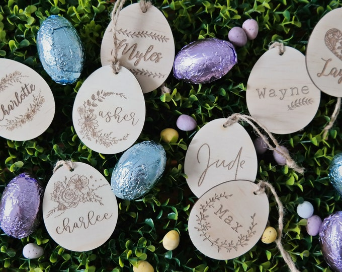 Easter Egg. Personalised Easter Gifts.