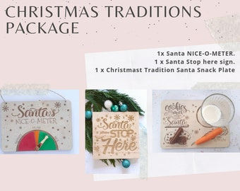 Christmas Traditions Decoration Package.