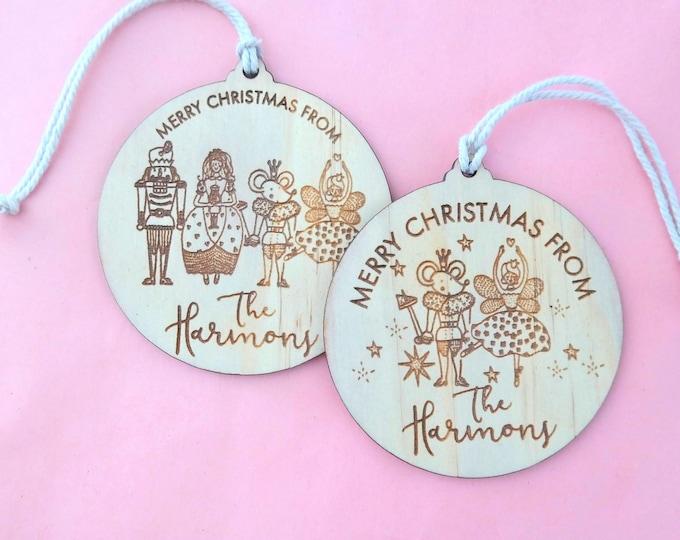Customised Christmas Baubles - Ornaments - Nutcracker.