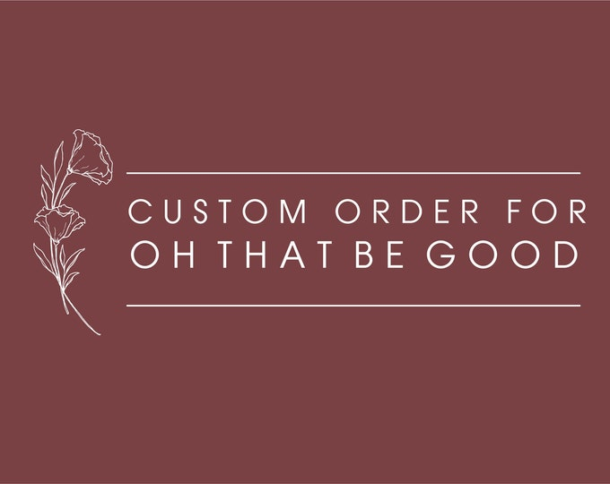 Custom order for Oh that be Good - Coaster and mini cupcake toppers.