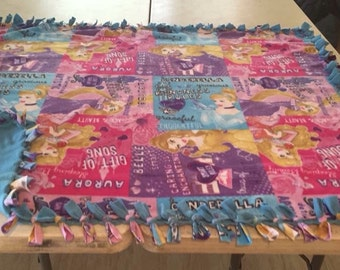 Disney princess fleece blankets