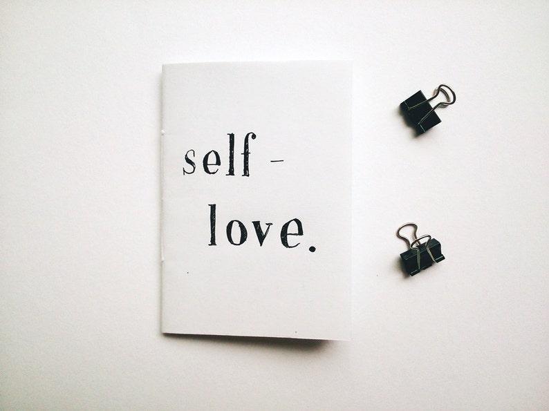 Zine: SELF-LOVE // poetry / prose / perzine // handmade zine / image 0