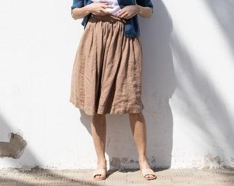 8268382f536 Linen skirt