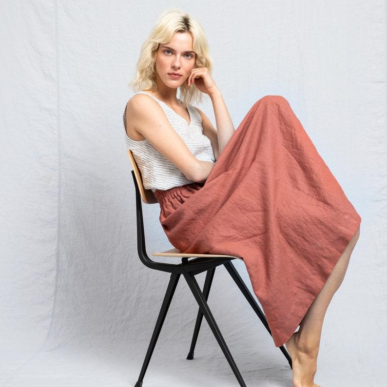 Linen skirt SION image 0