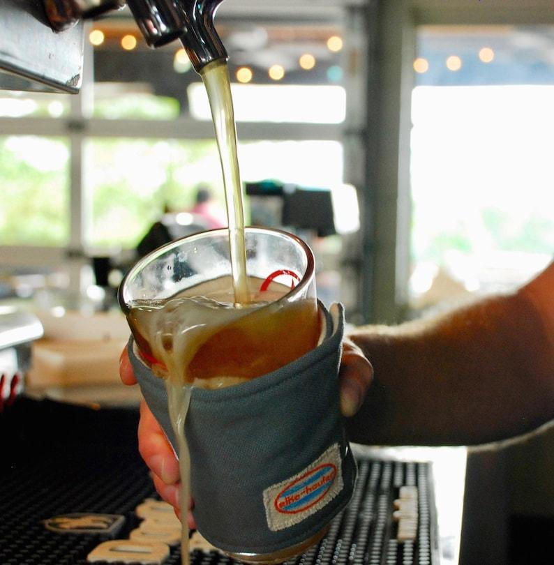 Alko Dumper Pint Glas Isoliert Trinken Wickeln Pint Glas Rot Etsy