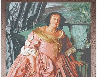 Gryffindor door painting Elizabeth Spriggs (No Frame)