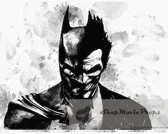 Batman Vs Joker Etsy