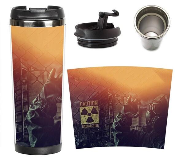 Stalker chernobyl thermo mug  Chernobyl liquidator mug
