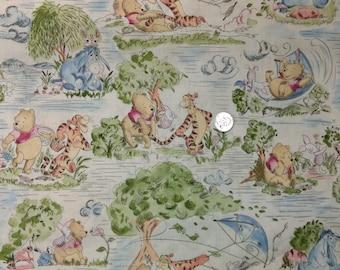 Classic Winnie the Pooh - Windy Day Fabric