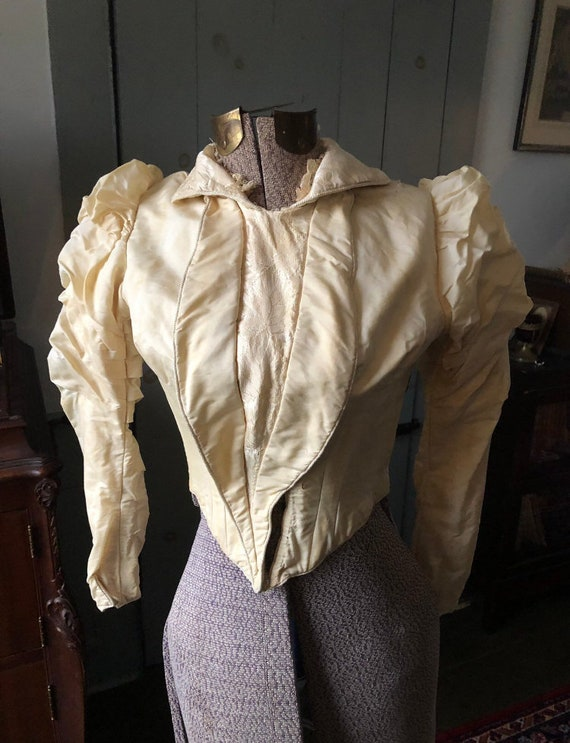 Late Victorian 1890s, Early 1900s Bodice Blouse X… - image 7