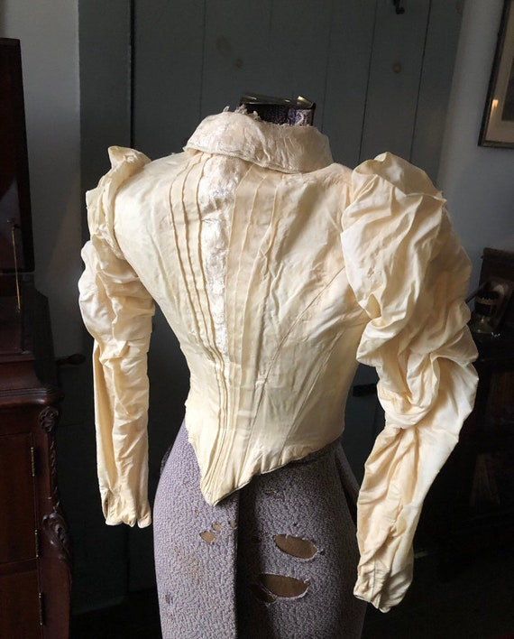 Late Victorian 1890s, Early 1900s Bodice Blouse X… - image 9