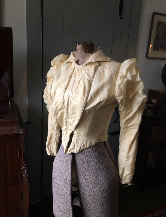 Late Victorian 1890s, Early 1900s Bodice Blouse X… - image 8