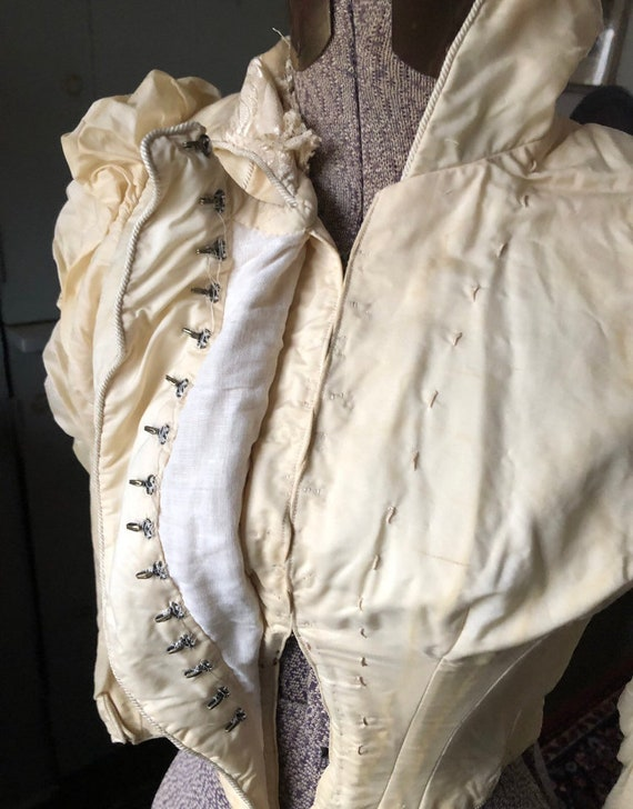 Late Victorian 1890s, Early 1900s Bodice Blouse X… - image 10