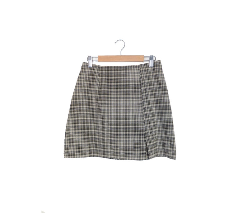 b23068911 Vintage 90s Plaid School Girl Mini Skirt Size 27 Waist | Etsy