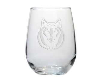 Large Wine Glass with Witcher Inspired Design