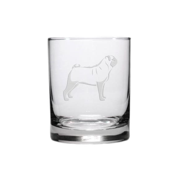 2 HEARTS PAW ETCHED GLASS BIRTHDAY MOTHERS DAY GIFT CHAMPAGNE FLUTES COLLIE PUG