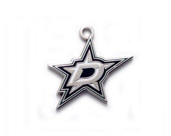 Dallas Stars NHL Charm