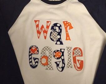 War Eagle Auburn Raglan Shirt