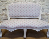 Stunning French Louis XV Childs Settle in KATE FORMAN Agatha