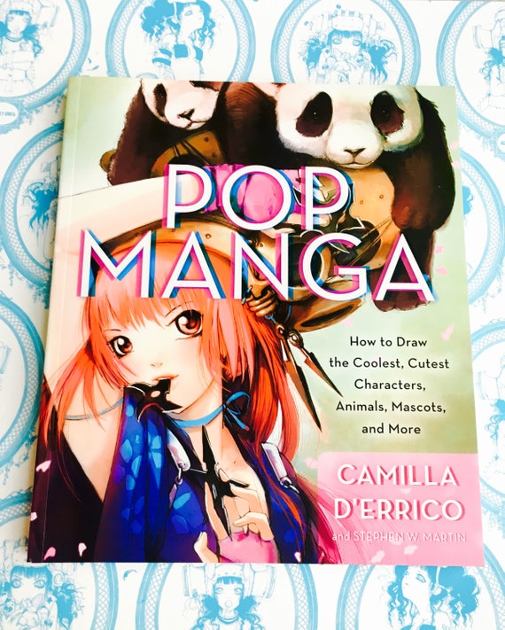 Pop Manga How To Draw Instuctional Book Etsy