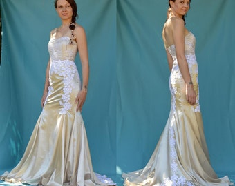 Sewing Pattern: Trumpet Style Gown with sweetheart neckline