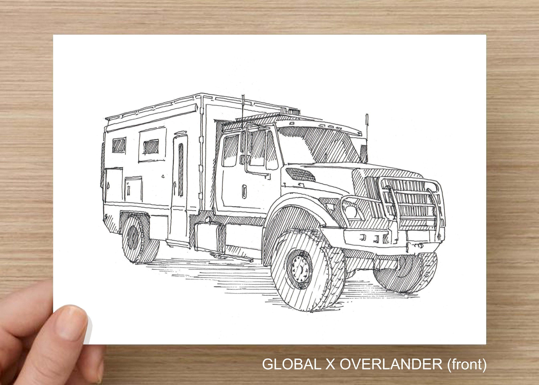 OVERLANDER TRUCK CAMPER - Global X, Overland, Adventure