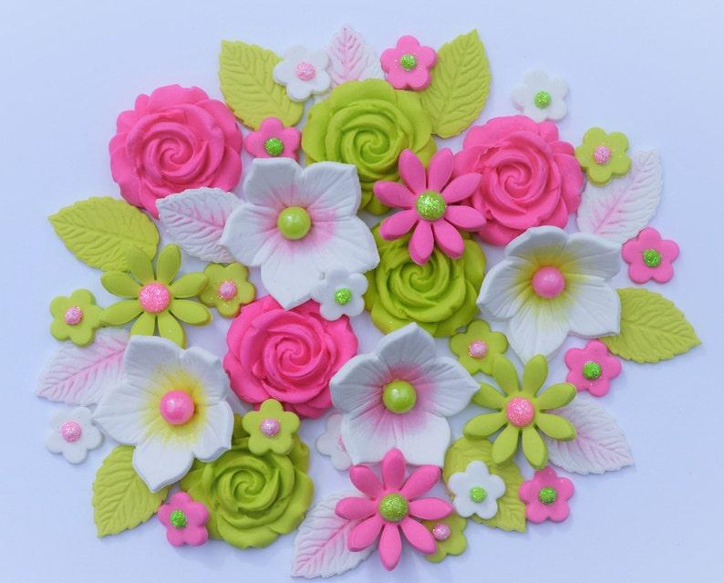 Astounding Edible Wedding Cake Flowers Edible Flower Bouquet Cake Etsy Funny Birthday Cards Online Hetedamsfinfo