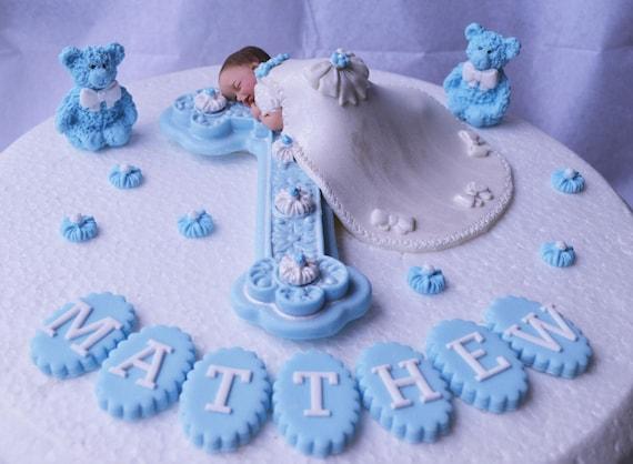 Essbare Baby Und Kreuz Taufe Kuchen Topper Baby Junge Taufe Kuchendekoration Taufe Kuchendekoration Jungs Die Taufe Kuchendeckel