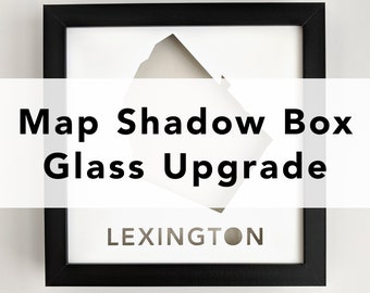 Glass Upgrade for Map Shadowbox