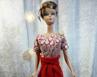 OOAK for doll Barbie Silkstone Fashion Royalty