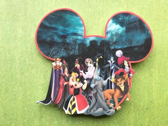 MAGNET  Disney Characters Seven Dwarfs Group Photo Magnet