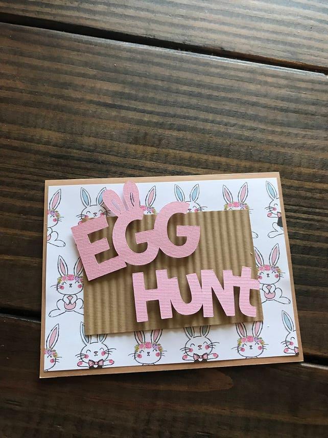 Homemade Card - Easter