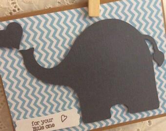 Homemade Baby Shower Card