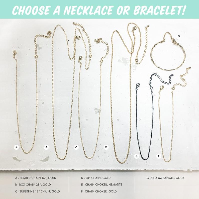 Personalized Jewelry Onyx Green Agate Amethyst Pink Jade Smokey Quartz Lapis Necklace  Bracelet Dainty Gemstone Briolette Charm Pendant