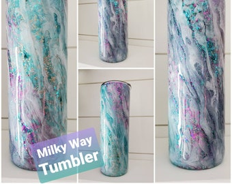Milky Way Tumbler/Turquoise Tumbler/Insulated Tumbler