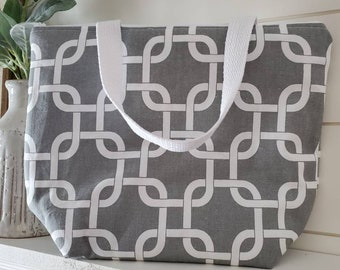 Insulated Lunch Tote/Lunch Tote/Work Lunch Tote