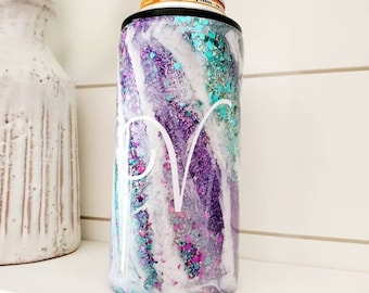 Milky Way Can Holder/Slim Can Holder/White Claw Can Holder/Personalized Can Holder