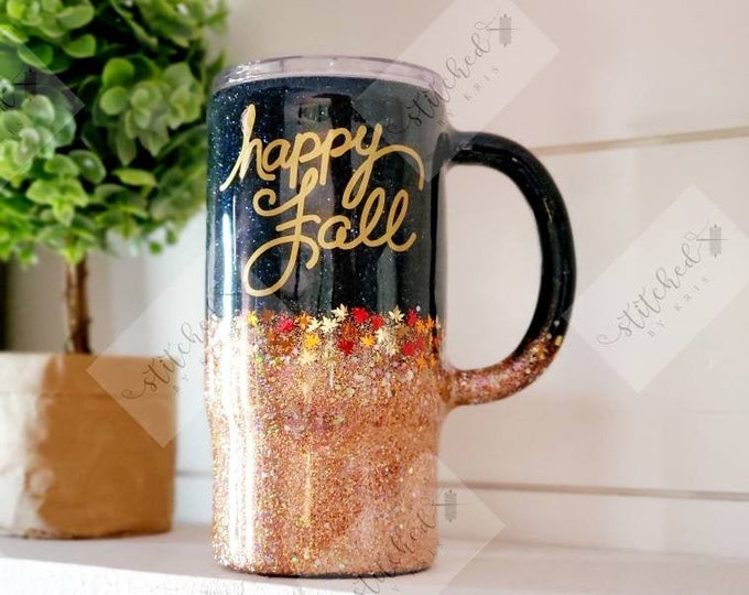 Featured listing image: Happy Fall Tumbler/Fall Travel Mug