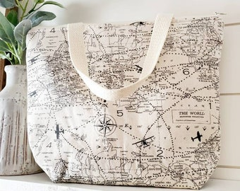 Insulated Lunch Tote/Air Traffic Lunch Tote/Pilot Lunch Tote/Lunch Bag