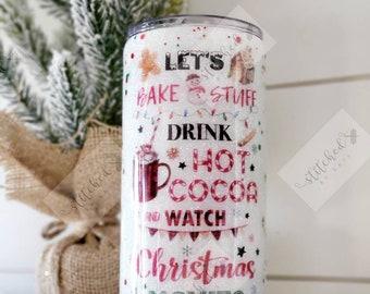 Christmas Tumbler/Hot Cocoa Tumbler
