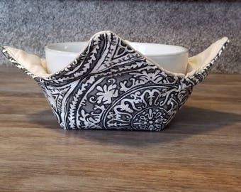 Brown & Cream Bowl Cozy/Housewarming Gift