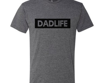 02e600e5 Dad Life Adult Shirt TShirt Dad T-Shirt Daddy Father Phrase Top Hip Stylish  Dad Gift Father's Day