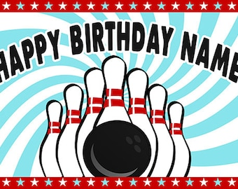 cake topper smash cake photo prop bowling pin bowling balls i am two Bowling Birthday first birthday BIRTHDAY CANDLE i am one