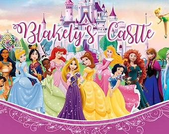 Princess Birthday Banner (Blakely's Castle)