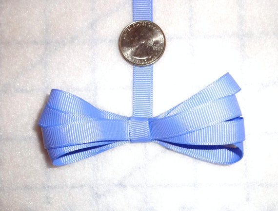 """Grosgrain Ribbon 1 1//2/"""" inch Mint Green White Gingham Baby Bows Bridal TWO YARDS"""